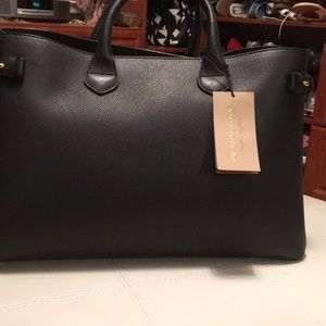 Burberry A:LL LG Banner Black Purse